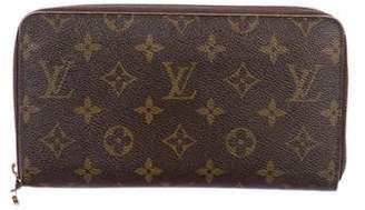 Louis Vuitton Monogram Zippy Organizer Wallet