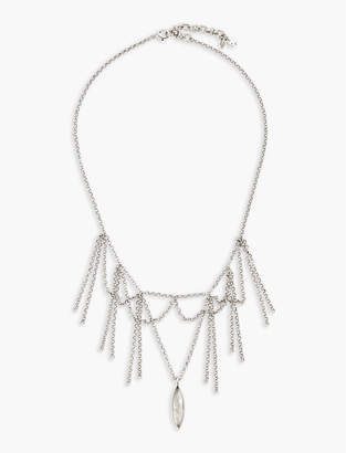 Lucky Brand Fringe Collar Necklace