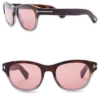 Tom Ford Acetate 51mm Sunglasses