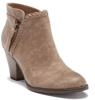 Mia Kori Braided Stacked Block Heel Boot