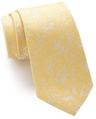f53e6e9967f4 Ben Sherman Matthew Floral Silk Tie
