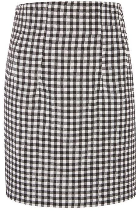 TopshopTopshop Gingham mini skirt