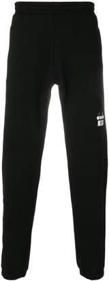 MSGM X Diadora branded track pants