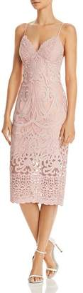 Bardot Gia Lace Sheath Dress