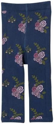 Mimi & Maggie Indigo Flower Knit Leggings (Baby, Toddler, Little Girls, & Big Girls)