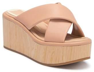 Dolce Vita Vinita Platform Wood Wedge Heel