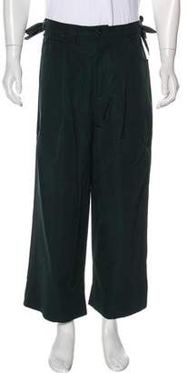 Craig Green Wide Leg Side Strap Trousers