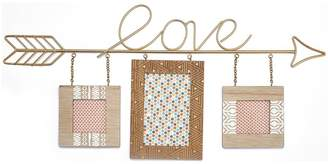 Very Moroccan Collection Wooden Love Triple Photo Frame