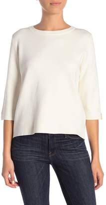 Catherine Malandrino Back Button Sweater (Petite)