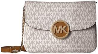 MICHAEL Michael Kors Fulton Flap Gusset Crossbody Cross Body Handbags