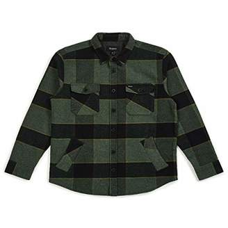 Brixton Men's Durham Long Sleeve Relaxed Fit Flannel