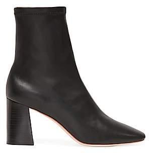 Loeffler Randall Women's Elise Leather Slim Booties