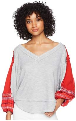 Free People Bubble Tee Women's Clothing