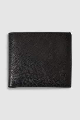 Polo Ralph Lauren Mens Leather Billfold Wallet - Black