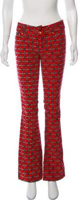 Dolce & Gabbana Flared Printed Pants