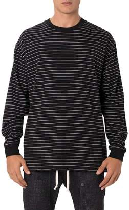 Zanerobe Pinstripe Flintlock Long Sleeve T-Shirt