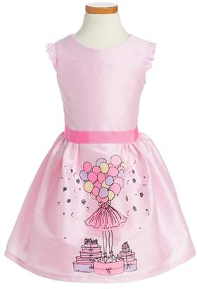 Fiveloaves Twofish Birthday Balloons Party Dress