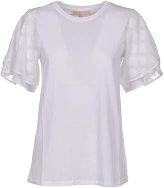 MICHAEL Michael Kors Polka Dot Sleeve T-shirt