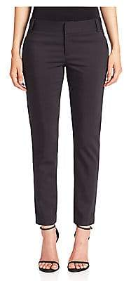 Alice + Olivia Women's Stacey Slim Cropped Pants