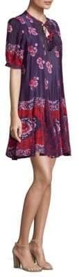 Sea Godet Tunic Dress
