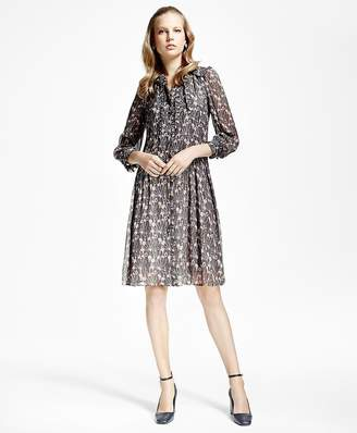 Silk Crepe Crinkle Shirtdress $398 thestylecure.com