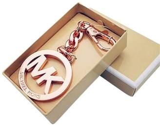 MICHAEL Michael Kors Michael Kors Womens Metal Key Fob Fashion Keychain Pink O/S