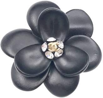 Chanel Vintage Black Metal Pins & brooches