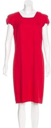 Valentino Short Sleeve Midi Dress