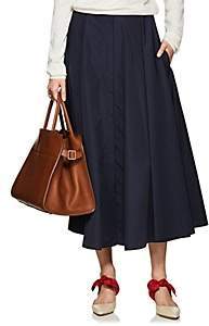 The Row Women's Saga Circle Skirt-Navy