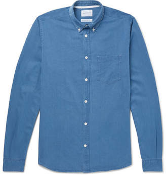 Norse Projects Anton Button-Down Collar Denim Shirt