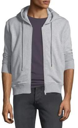 MCM Men's Graphic-Back Zip-Front Hoodie
