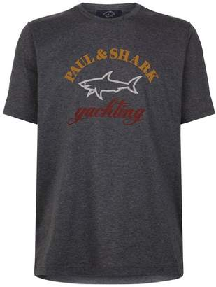 Paul & Shark Shark Logo T-Shirt