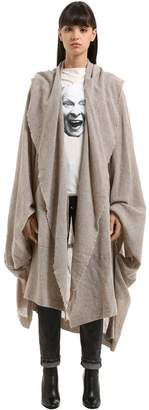 Vivienne Westwood Draped Wool Blend Coat