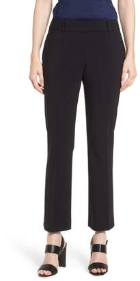 BOSS Talenara Tropical Stretch Wool Ankle Trousers