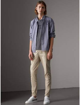 Burberry Slim Fit Cotton Poplin Chinos