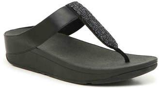 FitFlop Sparklie Crystal Wedge Sandal - Women's