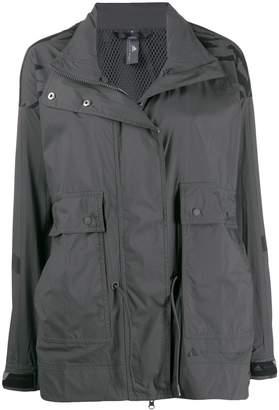 adidas by Stella McCartney animal print lightweight jacket