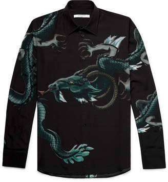 Givenchy Printed Woven Shirt