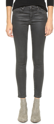 AG The Super Skinny Legging Ankle Jeans $245 thestylecure.com