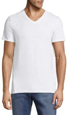 Calvin Klein Cotton Slim-Fit V-Neck T-Shirt