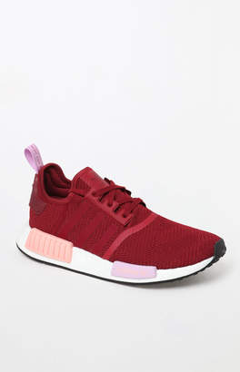 adidas Women's Burgundy NMD_R1 Sneakers