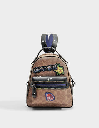 Coach Coated Canvas Signature Multi Patches Campus backpack