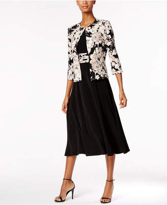 Jessica Howard Floral-Print Dress and Jacket $99 thestylecure.com
