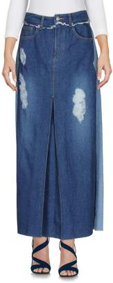 Sjyp Denim skirts - Item 42584669FI