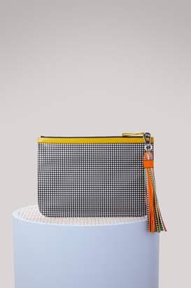 Pierre Hardy Leather clutch
