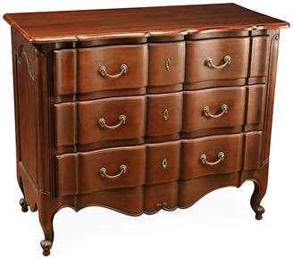 One Kings Lane Anya 3-Drawer Chest - Mahogany
