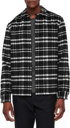 AllSaints Racine Plaid Shirt Jacket