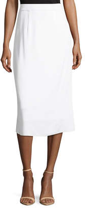 Misook Lined Straight Pull-On Skirt, Plus Size