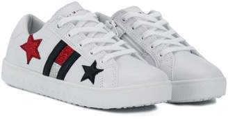 Tommy Hilfiger (トミー ヒルフィガー) - Tommy Hilfiger Junior side logo sneakers