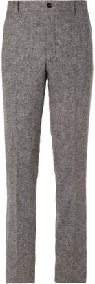 Thom Browne Slim-Fit Cropped Wool and Mohair-Blend Trousers